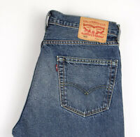Levi's Strauss & Co Hommes 505 Jeans Jambe Droite Taille W34 L32 APZ853