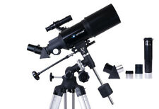TELESCOPE Astronomy StarRider 80F400EQ-A + accessories