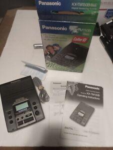Panasonic KX-TM150B Digital Answering Machine System KX-TM150 NO POWER CORD