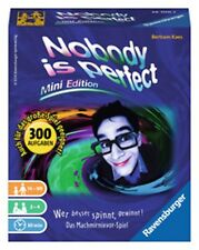 Ravensburger Nobody is perfect Mini Edition  Kartenspiel Spa�Ÿ & Action Nr. 26700