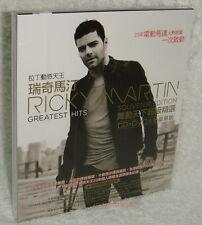 RICKY MARTIN GREATEST HITS SOUVENIR EDITION 2013 Taiwan Ltd CD+DVD w/BOX