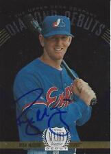 Ryan McGuire Montreal Expos 1996 Upper Deck Signed Rookie Card