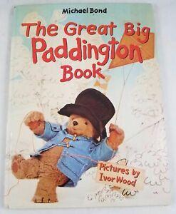 The Great Big Paddington Book by Michael Bond (1977, Hardcover)
