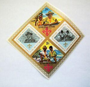 1967-Burundi SC # C45a, Boy Scouts SS IMPERF- MNH