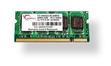 Modulo di memoria 4 GB G.SKill DDR3 PC3-10666 CL9 SQ Serie singolo portatile