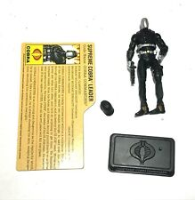 Gi Joe Cobra 25th 2007 legions commander figure loose complete