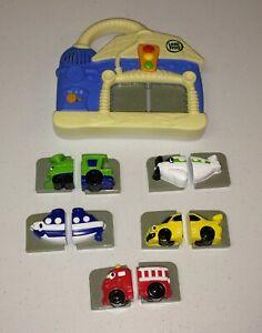 LeapFrog Preschool Fridge Wash & Go Magnetic Vehicle Set-COMPLETE