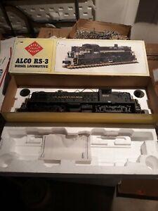 ARISTO-CRAFT ALCO RS-3 DIESEL LOCOMOTIVE 8832 Pennsylvania Railroad Untested