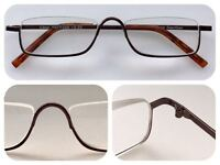 A48 High Quality Semi-Rimless Reading Glasses/Modern Style/Super Fashion Design