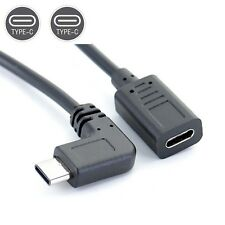 90 angle USB3.1 Type C Male to Female adapter Cable for phone tablet pc TT