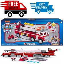 Home Kids Toy Game Toddler Play Hobbies Rescue Fire Truck Extendable Tall Ladder