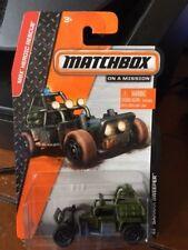 2014 Matchbox On A Mission Sahara Sweeper #104