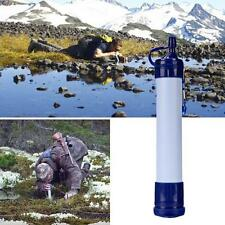 Army Soldier Hiking Camping Survival Emergency Cartridge Water Filter Purifier