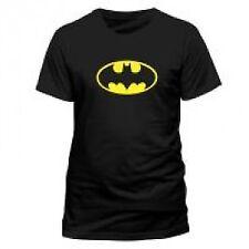 DC Comics Batman Logo T-shirt Unisex Extra Large Black Pe10760tsbpx