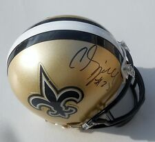C.J. Spiller Signed New Orleans Saints Football Mini Helmet w/COA