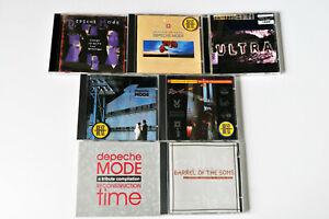 CD-Sammlung Depeche Mode, 7 CDs, sehr guter Zustand