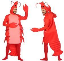 Déguisement Homme Crevette M/L costume adulte animal mer crustacé Humour