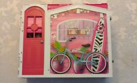 Vintage 2009 Mattel R4186 Barbie Glam Vacation Beach House Fold Out N'Go Playset
