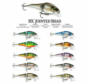 Rapala BX Jointed Shad // BXJSD06 // 6cm 7g Fishing Lures (Various Colors)