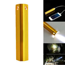 350LM CREE LED Flashlight 3800mAh 2 in 1 Powerbank Lamp Torch USB Rechargeable