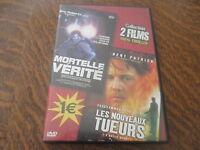 dvd 2 films mortelle verite + les nouveaux tueurs