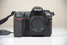 Nikon D200 Camera Body 4524 Shutter Actuations - Missing Battery Door and Eyecup