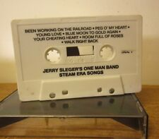 JERRY SLEGER Steam Era Songs cassette tape One Man Band synthesizer polka no art