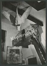 Paul Mathias Padua Atelier Schwan Gemälde Malerei Rottach-Egern Tegernsee 1953