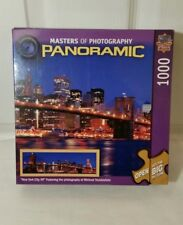 """Masters of Photography PANORAMIC New York City 1000 Big Picture Puzzle 39"""" x 13"""""""