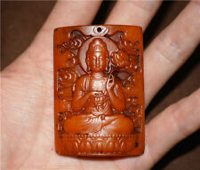 tibetan kapala quan kwan yin buddha real antique guanyin amulet pendant charm