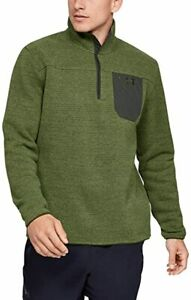 Under Armour ColdGear Mens Specialist Henley Academy Long Sleeve Sweater Size L