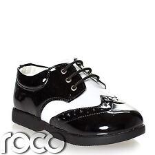 ragazzi bianco e nero scarpe, Scarpe eleganti, da matrimonio, per bambini