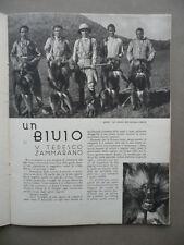 Un Bivio Tedesco Zammarano Caccia Grossa Africa Illustrazione Del Medico 1934