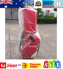 1 x NEW PVC ZIPPERED GOLF BAG RAIN COVER - Easy access to clubs - AU Stock
