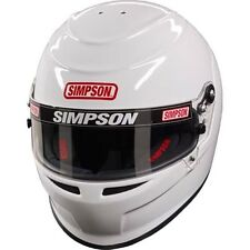 SIMPSON VENATOR HELMET SNELL SA2015/FIA 8859 GLOSS WHITE