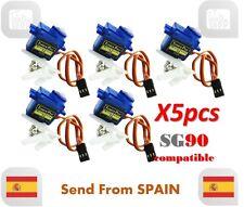 5pcs 9g SG90 Mini Micro Servo Modelismo Arduino Robotica Aeromodelismo