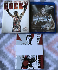 New ListingRocky Heavyweight Collection 40th Anniversary Edition (Blu-ray) With Cards!