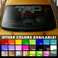 Windshield Banner Vinyl Decal Sticker for TRD TACOMA CAMRY COROLLA