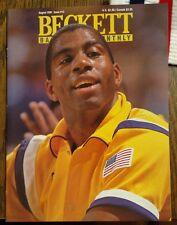 Issue #13 Beckett Basketball Magazine Aug 1991 Magic Johnson front cover