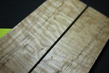 Quilted Spalted MAPLE Blank Lumber Wood SCALES KNIFE 1911 Grips guitar gun Curly