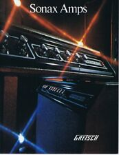 ORIGINAL Vintage 1972 Gretsch Sonax Amps Catalog