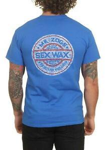 Sex Wax Whitewash Tee Blue