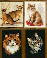 RIOLIS - Cats - Counted Cross Stitch Kits