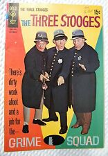 THE THREE STOOGES #40 1968 - September - GRIME SQUAD - GOLD KEY