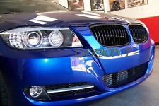 High Gloss Black BMW LCI Facelift 3 Series E90 E91 Kidney Sport Grill M 320d