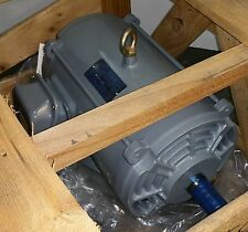 TECO 20 HP 3600 RPM ODP 230/460 VOLTS 254T 3 PHASE MOTOR NEW SURPLUS