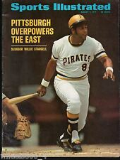 Sports Illustrated 1971 Pittsburgh Pirates Willie Stargell No Label Excellent