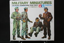 XD130 TAMIYA 1/35 maquette figurine militaire 35019 German army tank crew