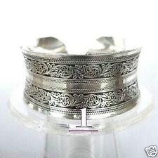 2016  New Tibetan Tibet silver Totem Bangle Cuff Bracelet #1