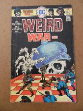Weird War Tales 43 . DC 1975 . VG +